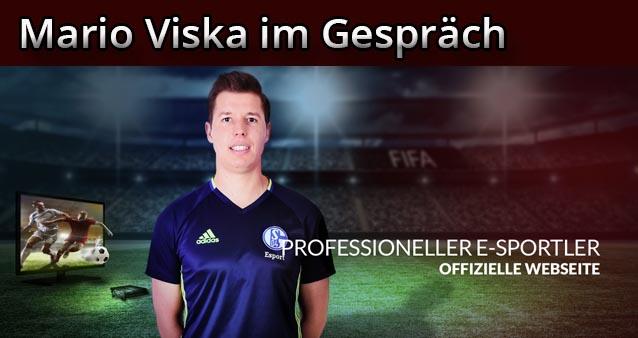 Mario Viska vom Fifa Team FC Schalke 04 zu Gast #002