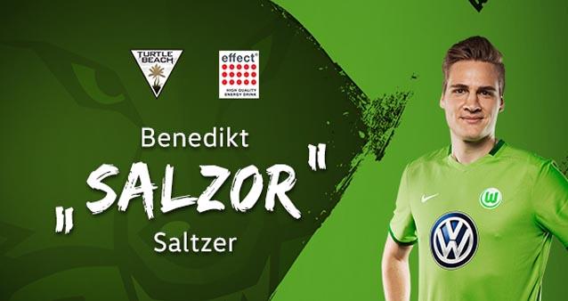 """Benedikt """"Salzor"""" Saltzer vom E-Sports-Team des VFL Wolfsburg im Gespräch"""