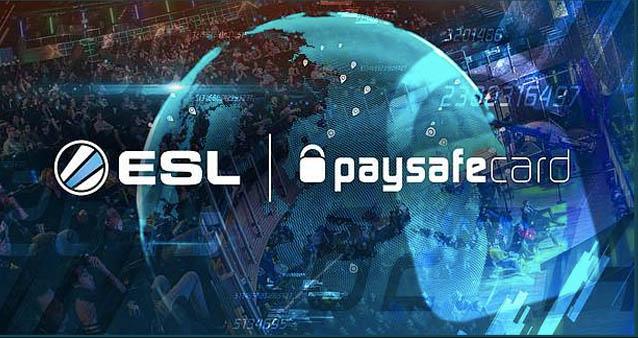 paysafecard wird Hauptsponsor der ESL