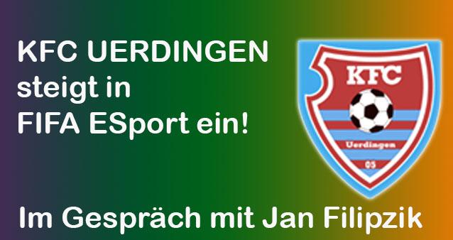 KFC Uerdingen steigt in Fifa eSport ein – im Gespräch mit dem Verantwortlichen Jan Filipzik #033