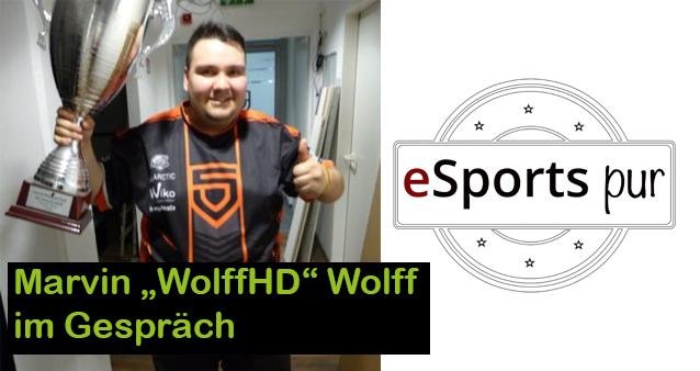Im Gespräch mit Fifa-Nachwuchs Marvin 'WolffHD' Wolff von Penta Sports #034