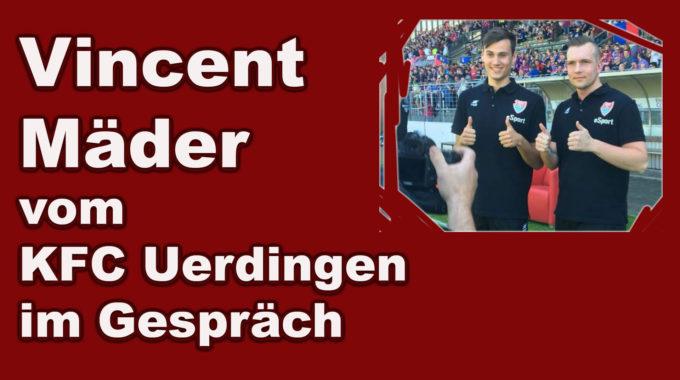 Fifa-Spieler Vincent Mäder über das Projekt KFC Uerdingen #036