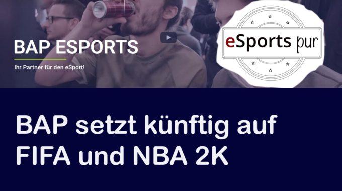 BAP Gaming setzt künftig auf Fifa und NBA 2K #053
