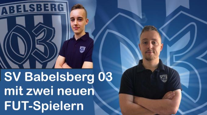 SV Babelsberg 03 mit zwei neuen FUT-Spielern #069
