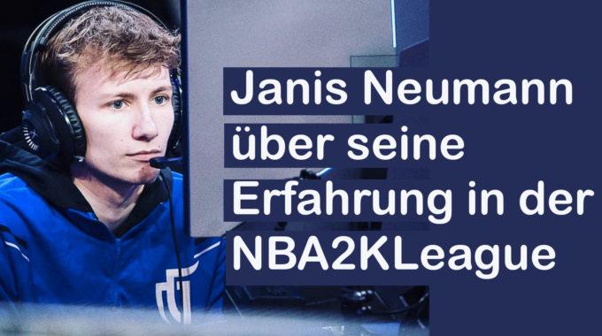 Jannis Neumann über seine Zeit in der NBA2KLeague und den Dallas Mavericks #068