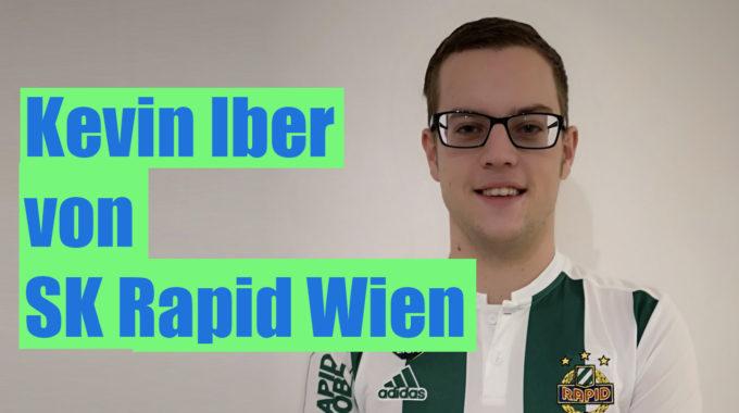 Kevin Iber von SK Rapid Wien über die eBundesliga, seine Ziele und Vision #082