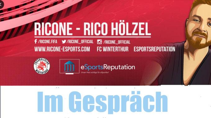 Ricone vom FC Winterthur über die aktuelle Saison und welche Ziele er für Fifa 20 hat #108
