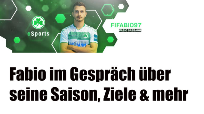 Fabio Sabbagh vom E-Sports-Team der SpVgg Greuther Fürth #119